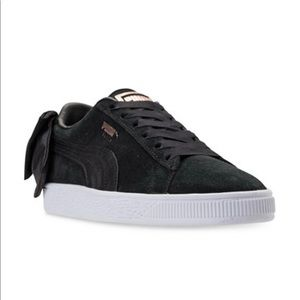 🎉New Puma Suede Bow Casual Sneakers